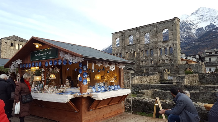 Weihnachtsmarkt Aosta